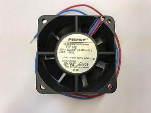 PaPSt Typ612 Fan Assy 12Vdc 2.5W 2-Wire
