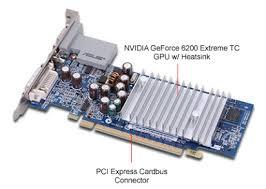 NVIDIA GeForce 6200 128MB DDR PCI Express (PCIe) DVI/VGA Video Ca