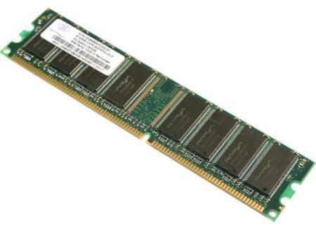 512MB 184p PC3200 CL3 16c 32x8 DDR400 2Rx8 2.5V UDIMM RFB