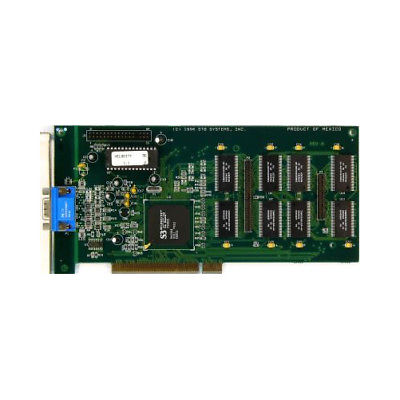 Stb Vidpci020Aaww Video Card With Vidcrd005Aaww Memory Card