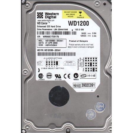 HARD DRIVE 120GB 7200RPM AT-IDE
