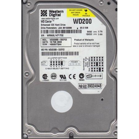 20GB IDE 7200RPM