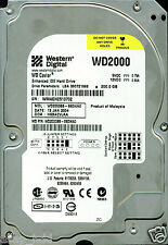 WESTERN DIGITAL IDE 200GB WD2000BB-98DWA0, HSBACVJAA