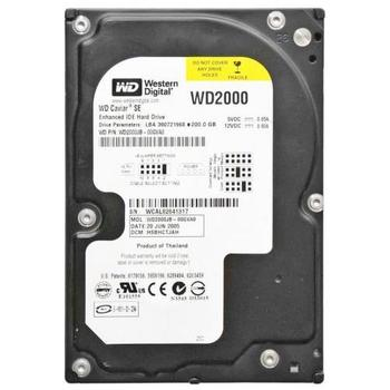 WD2000JB-00GVA0, DCM DSBHNTJAH, Western Digital 200GB IDE 3.5 Hard Drive