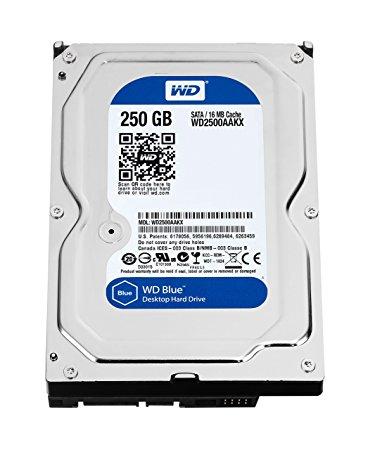 WESTERN DIGITAL WD2500AAKX Caviar Blue 250GB 7200 RPM 16MB cache SATA 6.0Gb/s 3.5