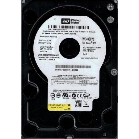 HARD DRIVE 400GB 7200RPM SATA